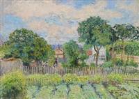 sommarträdgård by anton genberg