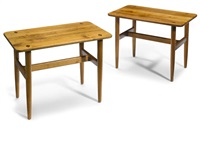 end tables (pair) by sam maloof