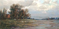 bosham creek, sussex by charles i. anson