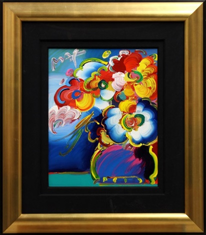 Vase Of Flowers Version No33 By Peter Max On Artnet