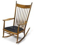 ypo rocking chair by sam maloof