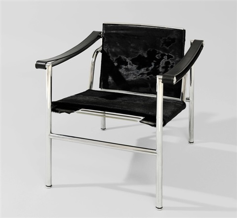 fauteuil lc1 by le corbusier charlotte perriand and pierre jeanneret on artnet. Black Bedroom Furniture Sets. Home Design Ideas