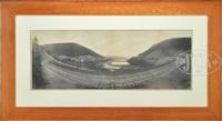 horseshoe curve, pennsylvania, r.r by william h. rau
