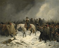 feldzug napoleons in russischem winter by adolf northen