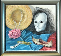 venezianische maske by michaela krinner