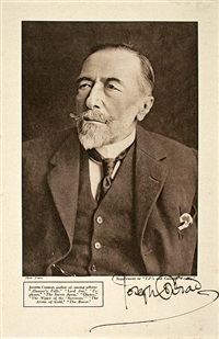 joseph conrad by james craig annan