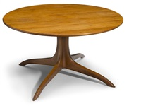 pedestal table by sam maloof