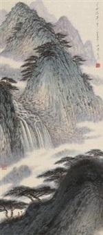 山水 (landscape) by ji jinchun