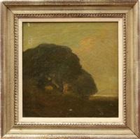 lone tree by xavier martinez