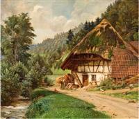 schwarzwaldhaus by carl kricheldorf