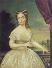 nancy nellie hall bacon, thomas jefferson's niece by fortunato ariolla