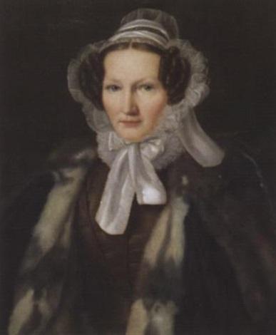 porträt der elisabeth vonder mühll bischoff von basel by giovanni moriggia