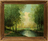 landscape by robert edward wood