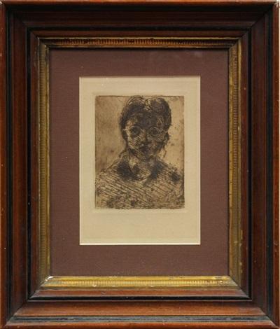 tete de jeune fille by paul cézanne