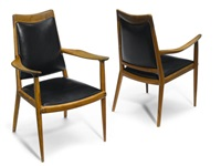 armchairs (pair) by sam maloof