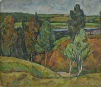 landscape near moscow by iosif naumovich gurvich