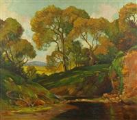 sunlight through the trees by dana bartlett