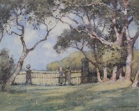 the manor gates, harlyn bay by a. moulton foweraker