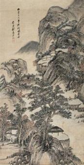 山水 (landscape) by qi zhijia