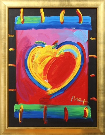 valentine by peter max