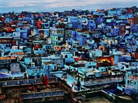 jodhpur, rajasthan, from the series blue city by steve mccurry