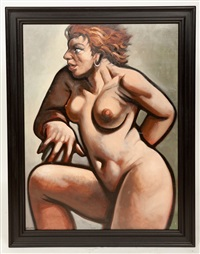 the dancer by peter howson
