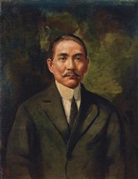 孙中山像 (dr.sun) by li tiefu