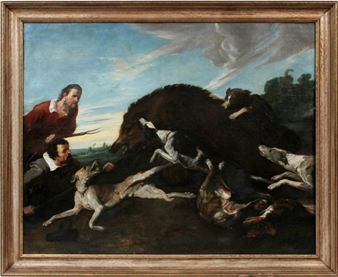 hunting scene by frans snyders