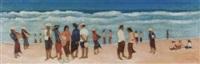 indoneser am strand by damin nasjah