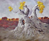 胡杨 (tree) by baihetiya anwaier