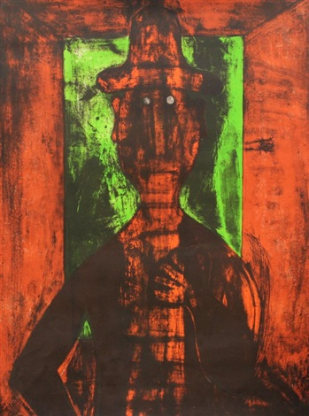hombre (2 works) by rufino tamayo