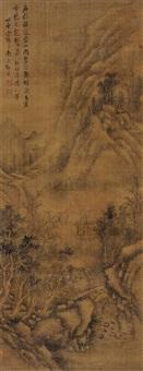 仿古山水 (landscape) by deng bin