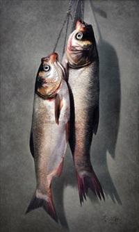 鲢鱼 (fish) by gao yuanhe