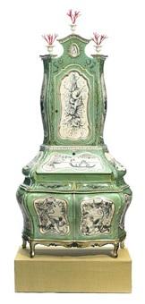 a venetian rococo style secretary bureau by charlotte jackson
