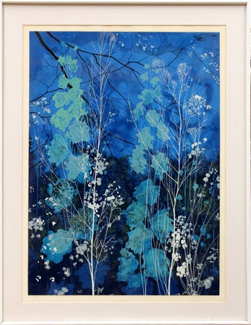blossoming branches by eyvind earle
