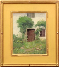 garden pathway (+ garden door; pair) by harriette bowdoin