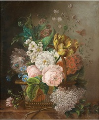 frühlingsblumen im wald