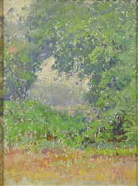 roadside view by henry james albright