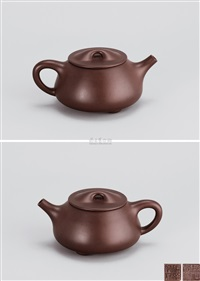 高石瓢壶 (stone weight teapot) by xu hantang