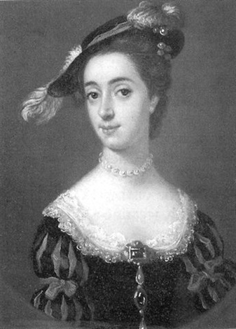 portrait of mrs binning mrs stuart of torrens sister of the countess of dundonald by francis lindo