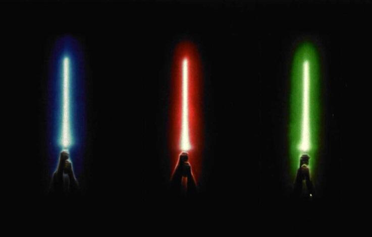 star wars (group of 3, poster design) by john alvin