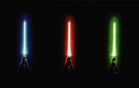 star wars group of 3 poster design by john alvin