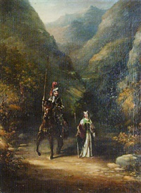 a knight and his lady by c.d. langley