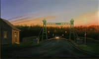 riegelsville bridge by valerie vonbetzen