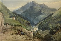 respite in the alps by william collingwood smith