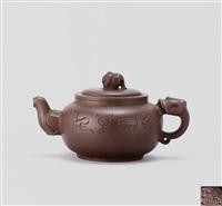 Xu xiutang and zhou guizhen auctions results artnet - Elephant shaped teapot ...