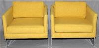 coggin chairs (pair) by milo baughman