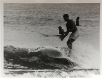 surfing-malibu (california) (set of 14) by leroy grannis