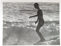 surfing - 22nd street, huntington beach (california) (set of 11) by leroy grannis