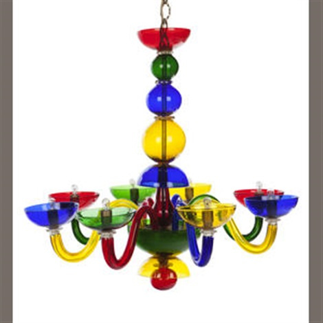eight arm chandelier by gio ponti